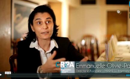 Emmanuelle Olivié-Paul - Interview réalisée par le CR2PA   2014