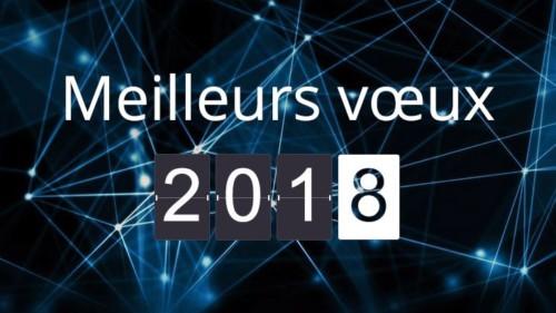 Toute l'équipe MARKESS vous présente ses meilleurs vœux pour 2018