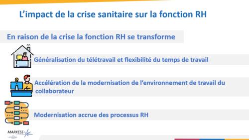 L'impact du contexte sanitaire sur la fonction RH